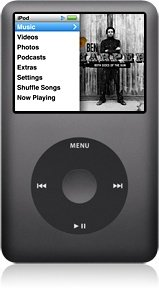 Apple iPod classic 160GB schwarz (MC297*/A) (09/2009)