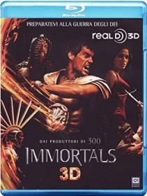 Immortals (3D) (Blu-ray) (UK)