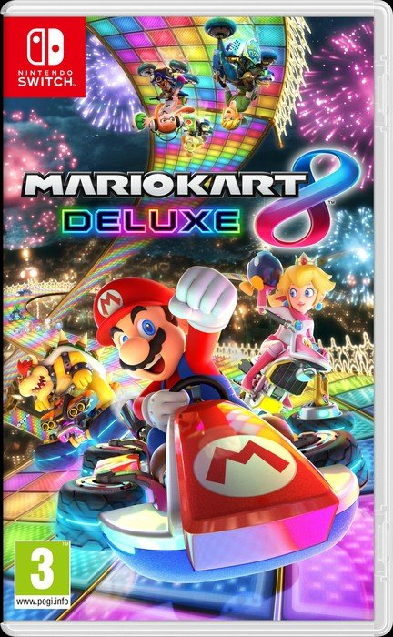 Mario Kart 8 Deluxe (deutsch) (Switch)