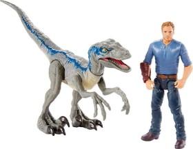Mattel Jurassic World Story Pack Velociraptor Blue & Owen (FMM51)