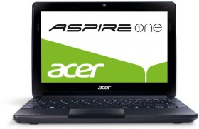 Acer Aspire One D270 schwarz, Atom N2600, 1GB RAM, 320GB HDD, DE (LU.SGA0D.032)