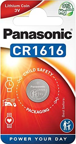 Panasonic CR1616, litowa, 3V -- via Amazon Partnerprogramm