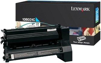 Lexmark 10B031C Toner cyan