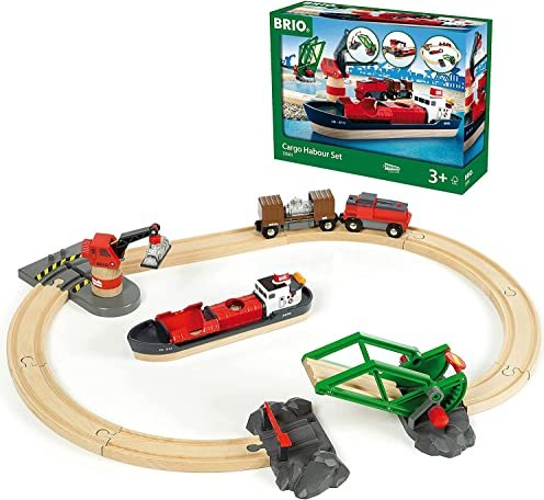 BRIO Cargo Harbour Set (33061) -- via Amazon Partnerprogramm