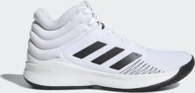 adidas Pro Spark 2018 ftwr white/core black/grey one (Herren) (B44966)
