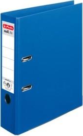 Herlitz maX.file protect plus Ordner A4, 8cm, blau (10834331)