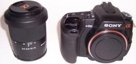 Sony Alpha 300 schwarz mit Objektiv AF 18-70mm 3.5-5.6 DT (DSLR-A300K)