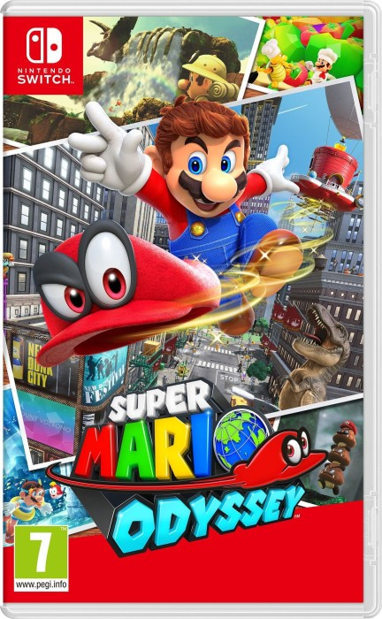 Super Mario Odyssey (deutsch) (Switch)