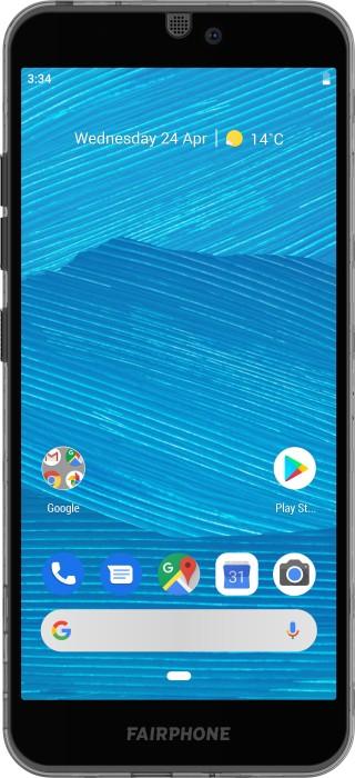 Fairphone 3 schwarz/transparent