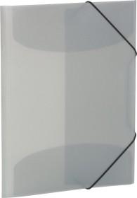Herma Sammelmappe A4 transparent grau (19582)