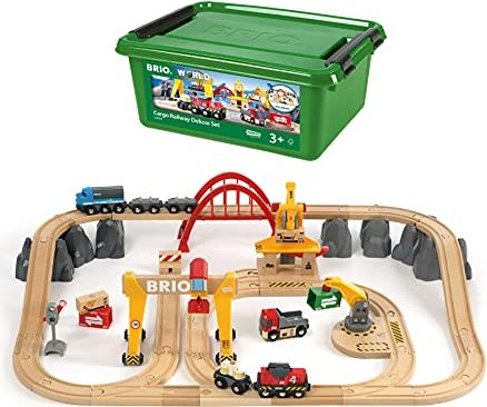 BRIO Cargo Railway Deluxe Set (33097) -- via Amazon Partnerprogramm
