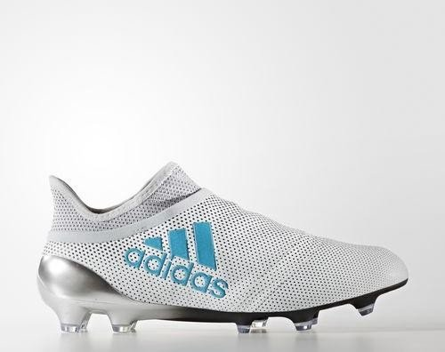 1c5fddbc5 adidas X 17+ Purespeed FG white energy blue clear grey (Herren)