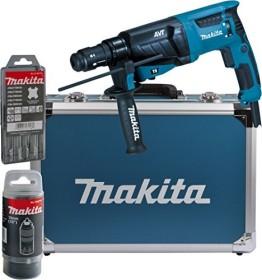 Makita HR2631FT13 Elektro-Bohr-/Meißelhammer inkl. Koffer + Zubehör