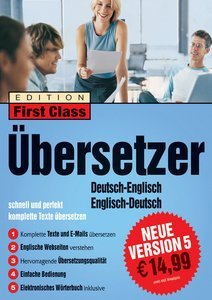 digital Publishing: First Class Translator English 5.0 (PC)