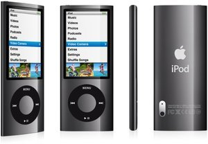 Apple iPod nano 8GB schwarz (5G) (MC031*/A)