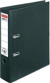 Herlitz maX.file protect plus Ordner A4, 8cm, schwarz (10834315)