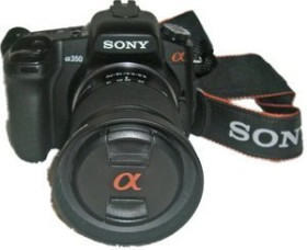 Sony Alpha 350 schwarz mit Objektiv AF 18-70mm 3.5-5.6 DT (DSLR-A350K)