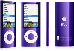 Apple iPod nano 8GB purple (5G) (MC034*/A)