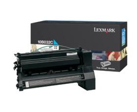 Lexmark Toner 10B032C cyan hohe Kapazität