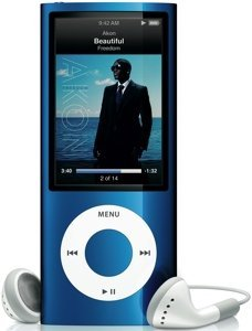Apple iPod nano  8GB blau (5G) (MC037*/A)