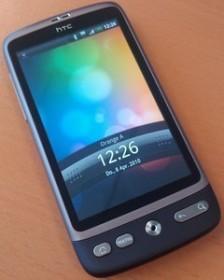 HTC Desire braun