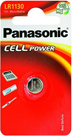 Panasonic LR1130, alkaliczna, 1.5V -- via Amazon Partnerprogramm