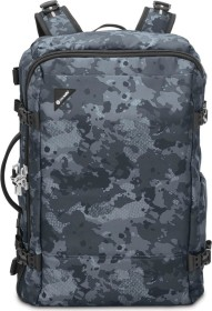 Pacsafe Vibe 40 Anti-Theft 40l backpack, black/grey Camouflage-pattern (60310802)