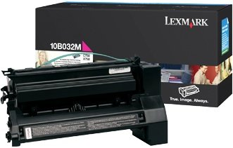 Lexmark 10B032M Toner magenta hohe Kapazität