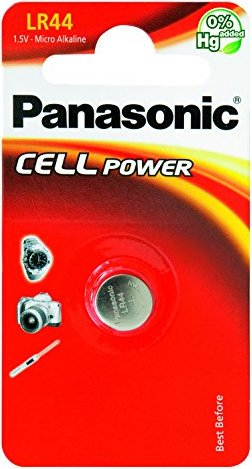 Panasonic LR44, alkaliczna, 1.5V -- via Amazon Partnerprogramm