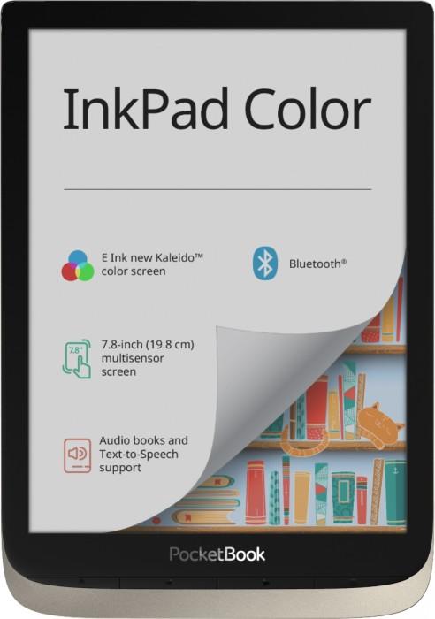 Bild PocketBook InkPad Color, Moon Silver (PB741-N-WW)