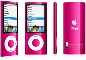 Apple iPod nano 8GB pink (5G) (MC050*/A)