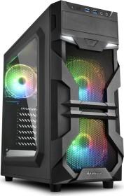 Sharkoon VG7-W RGB, Acrylfenster