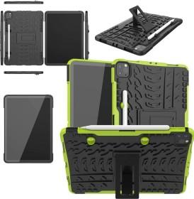 """Wigento Hybrid Outdoor Schutzhülle für Apple iPad Pro 11"""" [2. Generation / 2020], grün (74522)"""