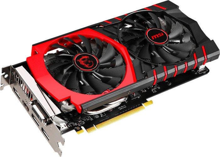 MSI GeForce GTX 960 Gaming 4G, 4GB GDDR5, DVI, HDMI, 3x DisplayPort (V320-034R)