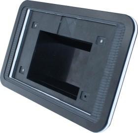 """Multicomp Raspberry Pi Gehäuse für Modell B und 7""""-Touchscreen, schwarz (CBRPP-TS-BLK)"""
