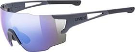 UVEX sportstyle 804 silver blue metallic
