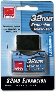 Speedlink 32MB Expansion Memory Card (PS2) (SL-4056)