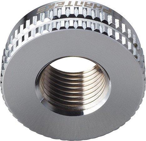 "Phanteks G1/4"" pass-Through fitting bulkhead silver (PH-PTF_CR_G1/4)"