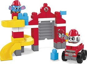 Mattel Mega Bloks Fisher-Price First Builders Peek A Blocks Fire Station (GYH11)