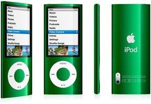Apple iPod nano 16GB zielony (5G) (MC068*/A)