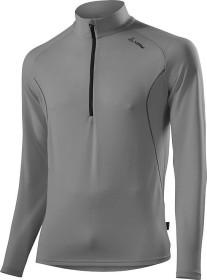 Löffler Pulli Transtex Merino Shirt langarm grey melange (Herren) (18419-900)