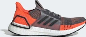 adidas Ultra Boost 19 grey four/core black/hi-res coral (Herren) (G27517)
