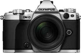 Olympus OM-D E-M5 Mark II silber mit Objektiv M.Zuiko digital ED 14-42mm EZ (V207044SE000)