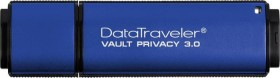 Kingston DataTraveler Vault Privacy 3.0 128GB, USB-A 3.0 (DTVP30/128GB)