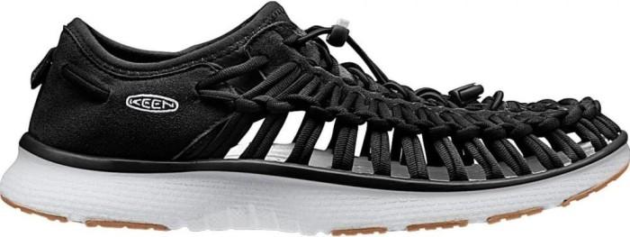Keen Uneek O2 Schwarz, Damen Sandale, Größe EU 39.5 - Farbe Black-Harvest Gold Damen Sandale, Black - Harvest Gold, Größe 39.5 - Schwarz