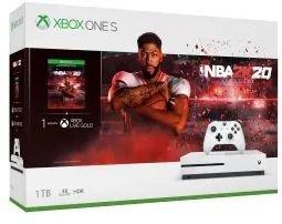 Microsoft Xbox One S - 1TB NBA 2K20 Bundle weiß