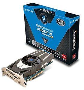 Sapphire Vapor-X Radeon HD 6850, 1GB GDDR5, 2x DVI, HDMI, DisplayPort, full retail (11180-18-40G)