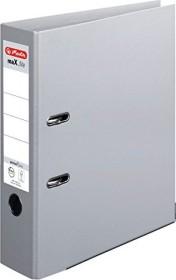 Herlitz maX.file protect plus Ordner A4, 8cm, grau (10834372)