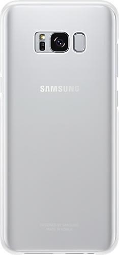 Samsung Clear Cover für Galaxy S8+ silber (EF-QG955CSEGWW)
