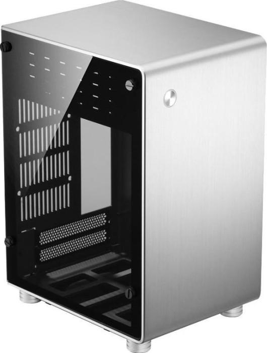 Jonsbo U1 Plus silber, Glasfenster, Mini-ITX (JB-U1+ S)